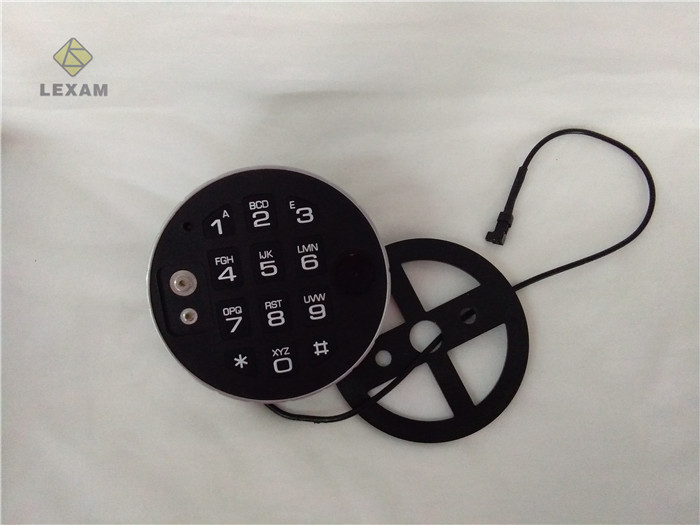 Digital Electronic Safe Lock Keypad Durable  , Security Door Keypad For Gun Safe